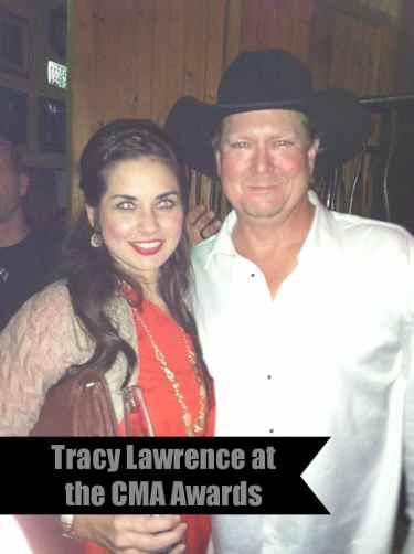 Tracy Lawrence at the CMA Awards - The Dallas Socials