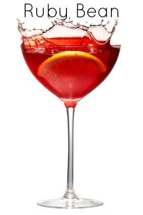 The Ruby Bean - Holiday Cocktail