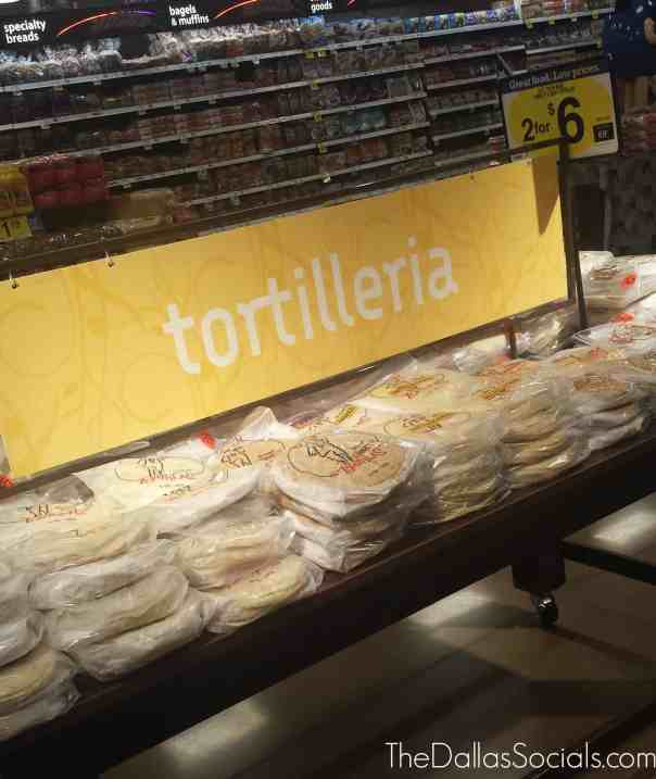 Handmade tortillas from Kroger are highly recommended!
