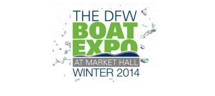 The DFW Winter Boat Show Stops at Dallas Market Hall from January 31 - February 9th.