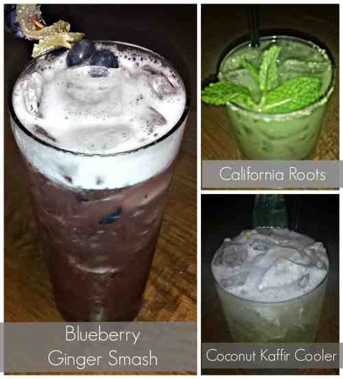 Signature Cocktails at California Pizza Kitchen made with Fresh ingredients. #food #pizza