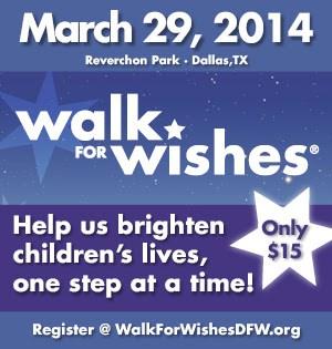 Walk for Wishes Dallas 2013