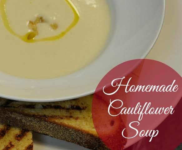 Homemade Cauliflower Soup Recipe #food #recipes #healthyrecipes