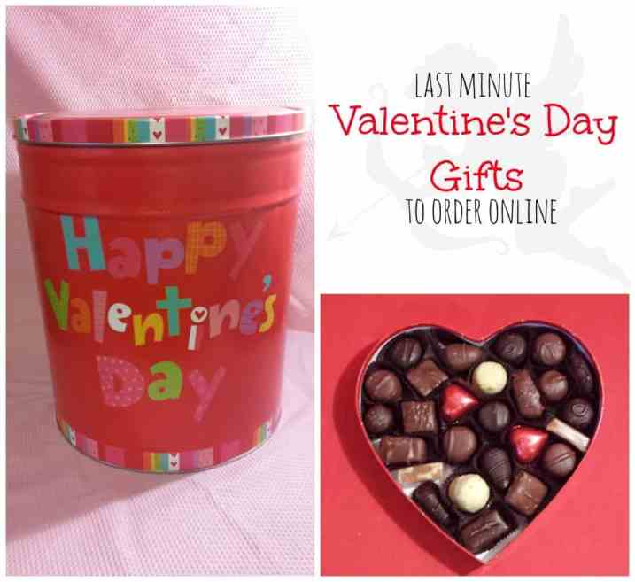 Last Minute Valentine's Day Gifts to Order online