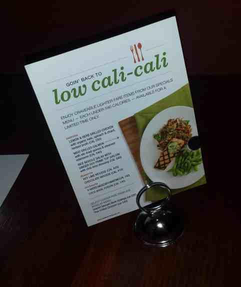 Low Cal Menu at Houlihan's. #soeatingthis
