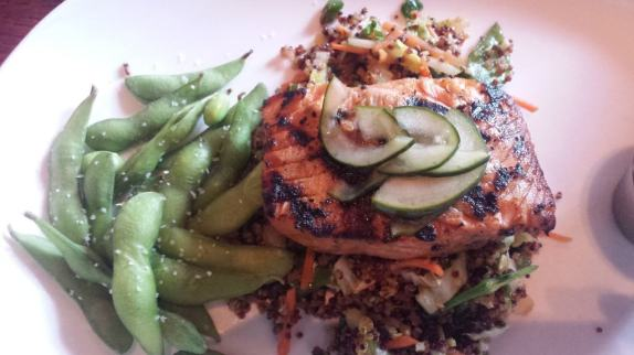Miso Grilled Salmon at Houlihan's. #soeatingthis