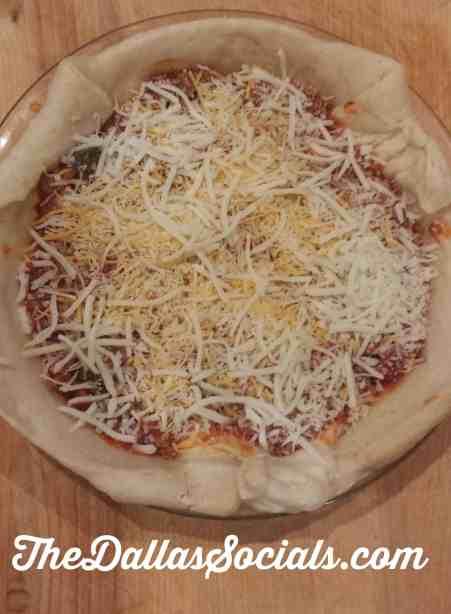 Taco Pizza with Ragu.