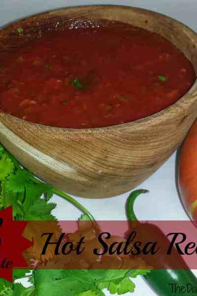 5 Minute Hot Salsa Recipe