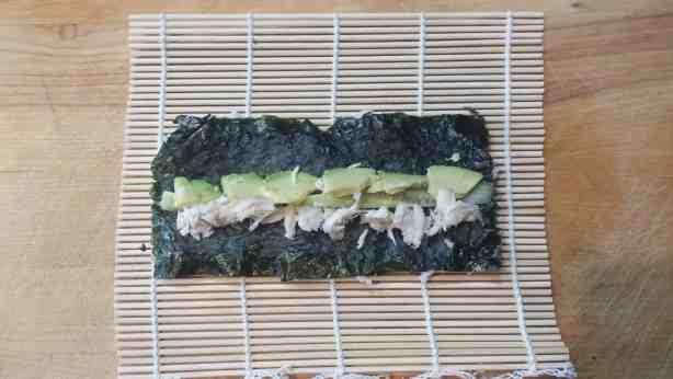 How to make sushi - California Rolls #recipe