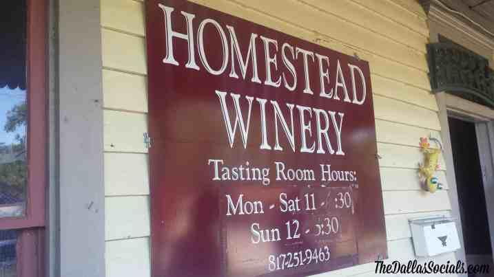 Homestead Winery - Grapevine Texas #Dallas