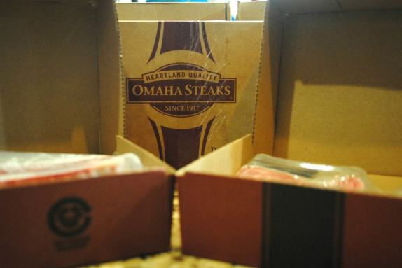 Omaha Steaks for Father's Day.