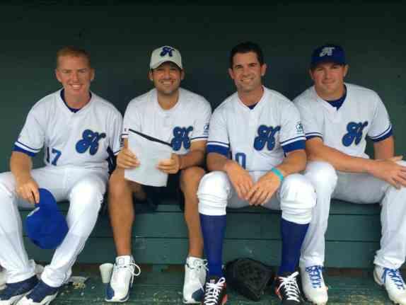 Dallas Cowboys at Heroes Foundation Celebrity Baseball Game 2014