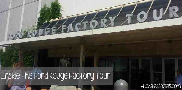 Inside the Ford Rouge Factory Tour (Detroit, Michigan) - #Travel #FordTX