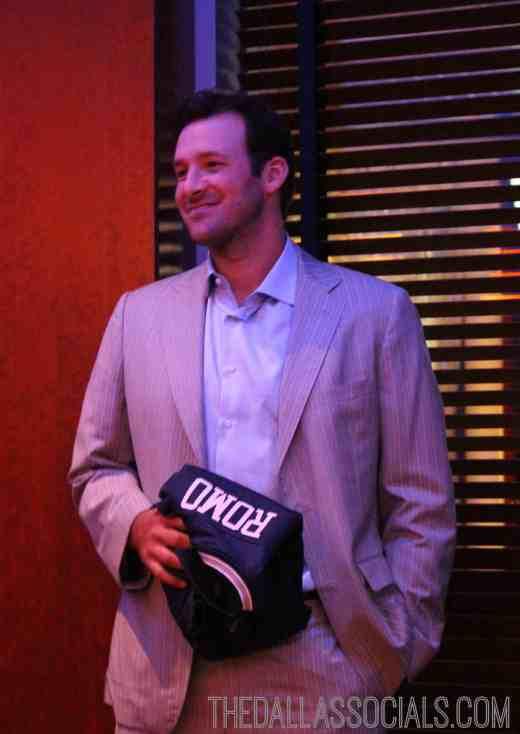 Celebrity Waiter Night - Tony Romo