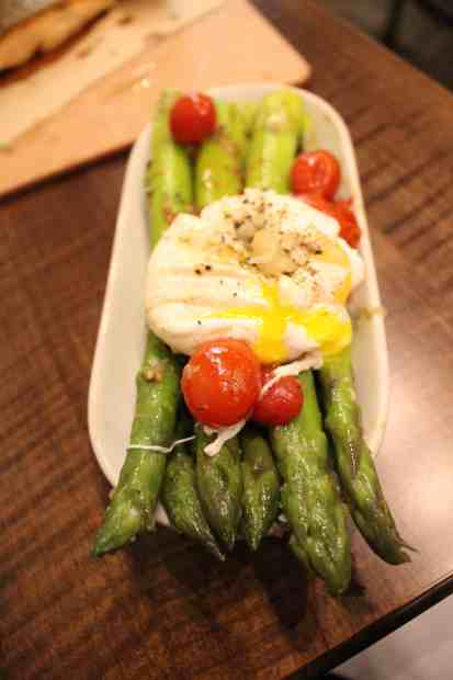 Asparagus at Clark Food and Wine Co