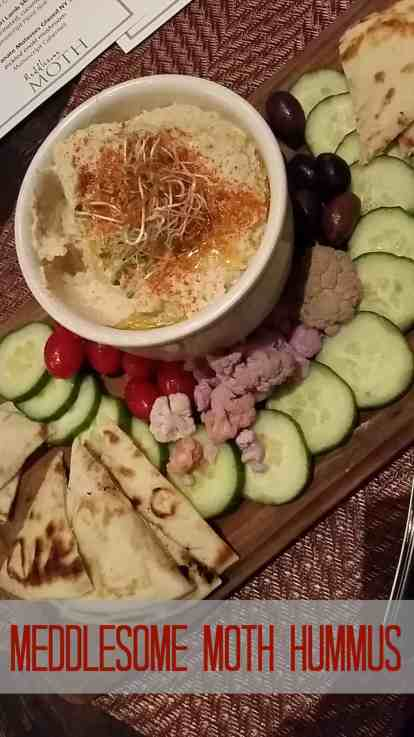 Meddlesome Moth Hummus Recipe