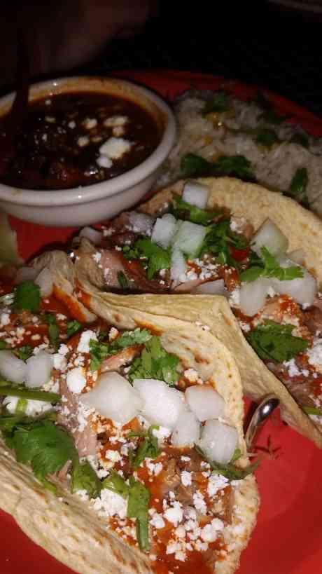 Carnitas Tacos at Uncle Julios