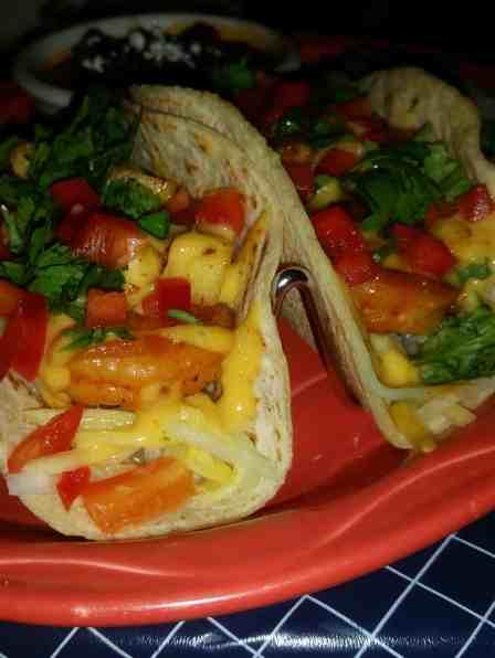 Cozumel Shrimp Tacos at Uncle Julio's