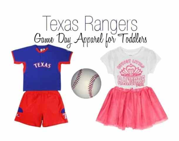 Texas Rangers Kid's Game Day Outfit