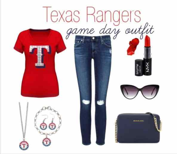 Texas Rangers Women's Game Day Outfit