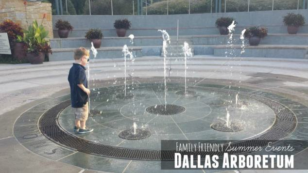 Family Friendly Summer Events at the Dallas Arboretum