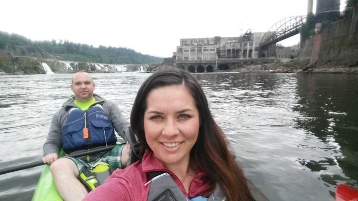 Kayak to Willamette Falls