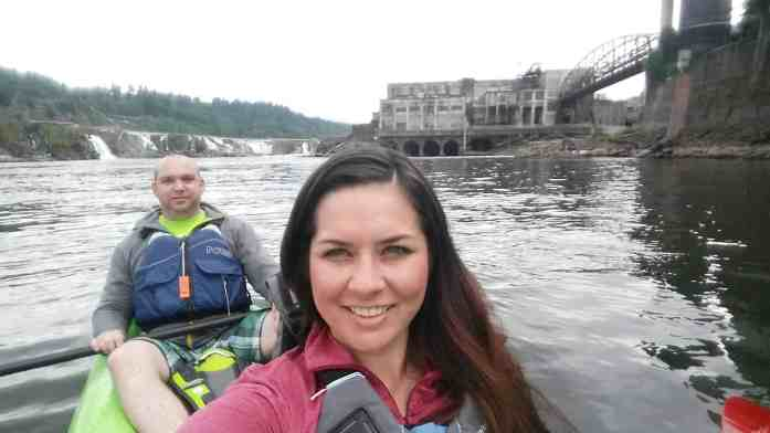 Kayak to Willamette Falls