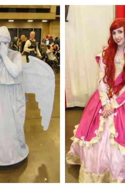 Halloween in May: Cosplayers Pose for Pics at Fan Expo Dallas