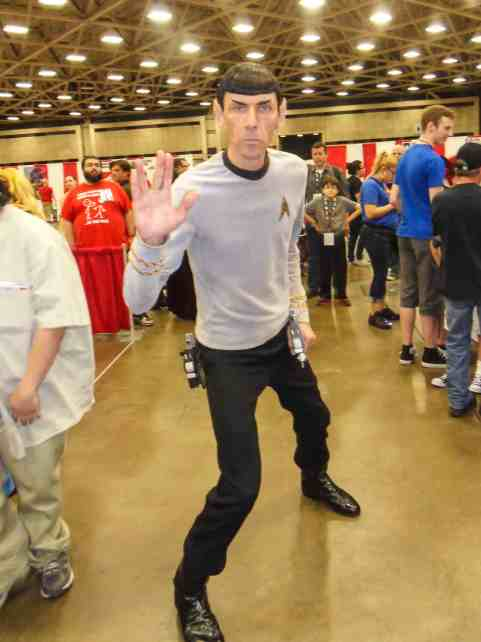 Spock Dallas FAn Expo