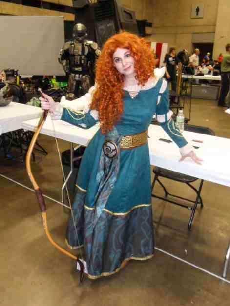 Merida from Brave - Dallas Fan Expo