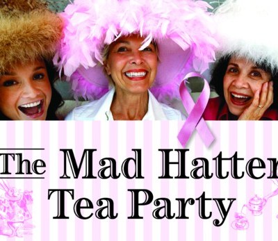 Celebrate Breast Cancer Fighters and Survivors at Mad Hatter Party