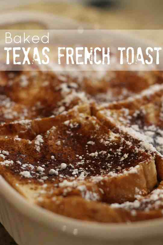 Baked Texas French Toast 1