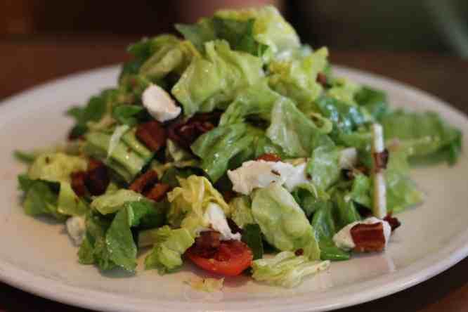 Texas Bibb Salad at Fireside Pies