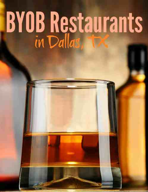 BYOB Restaurants in Dallas