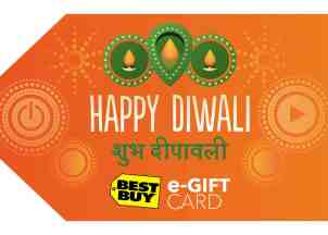 Best Buy Happy Diwali Gift Card