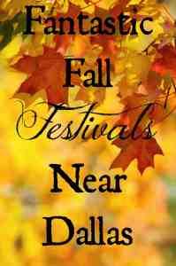 Fantastic Fall Festivals Near Dallas
