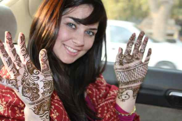 Henna in India