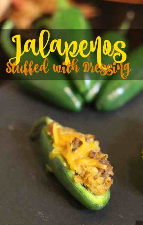 Jalapenos Stuffed with Dressing Recipe