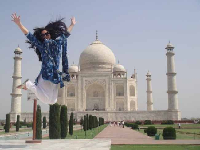 Taj Mahal Photo Shoot