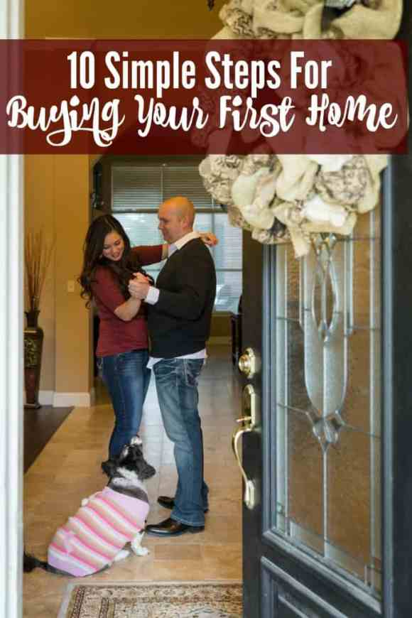 10 Simple Steps for Buying Your First Home