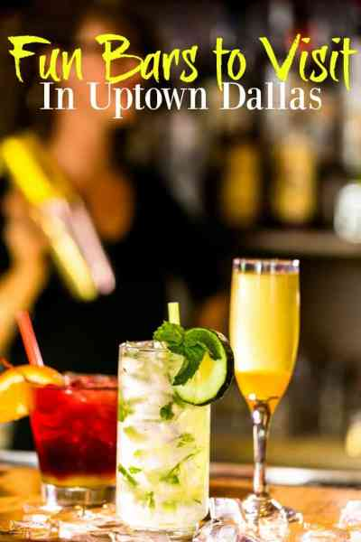 Fun Bars to Visit in Uptown