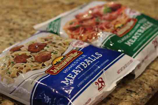 Johnsonville Sausage Meatballs