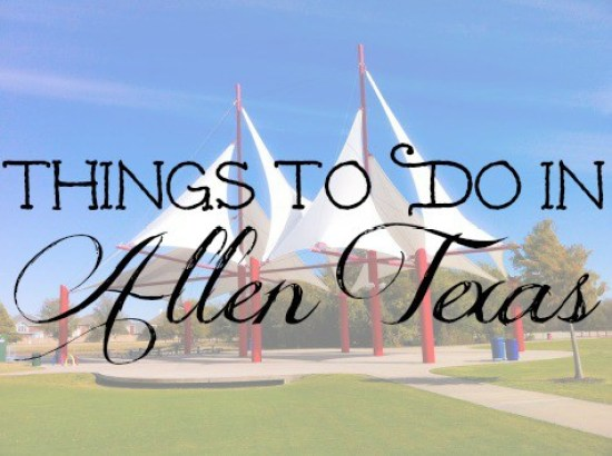 Things To Do in Allen Texas Edited Image