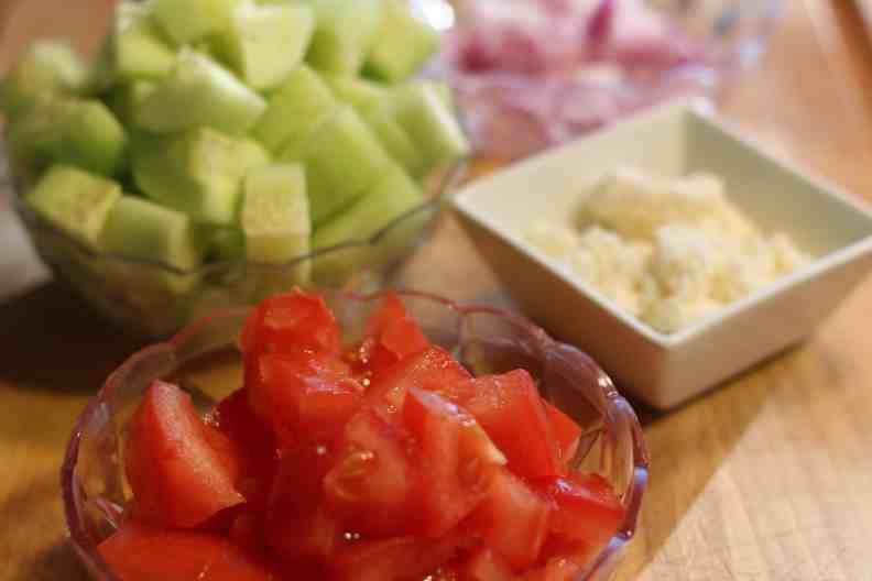 Homemade Greek Salad Recipe