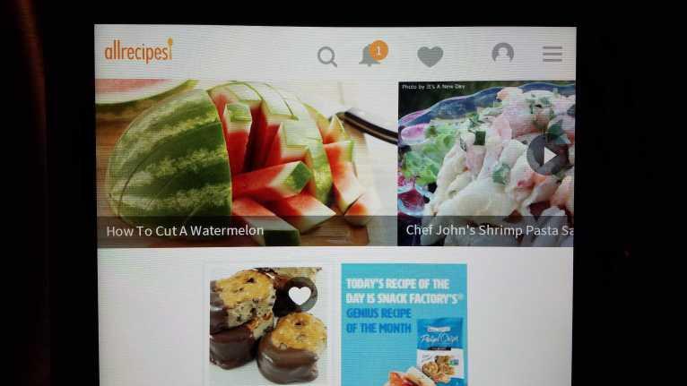 Samsung Hub - All recipes