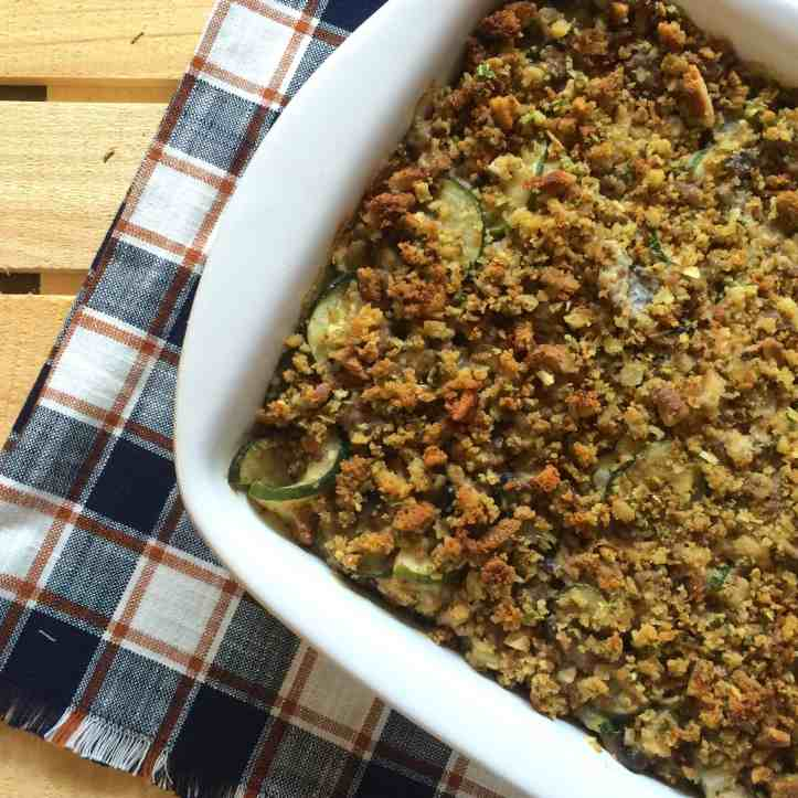 Garden Veggie Summer Casserole Recipe