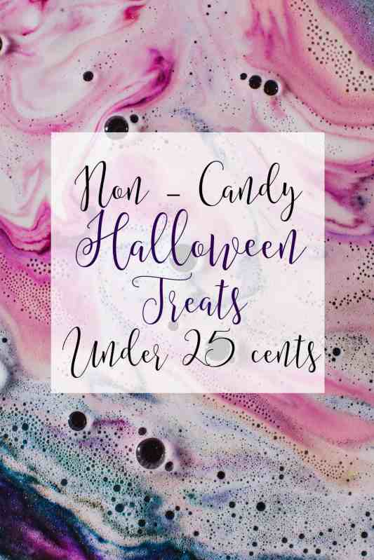 Non-Candy Halloween Treats under 25 Cents