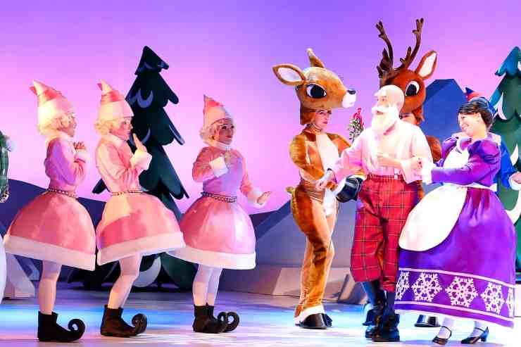 Rudolph Musical at Fair Park DAllas