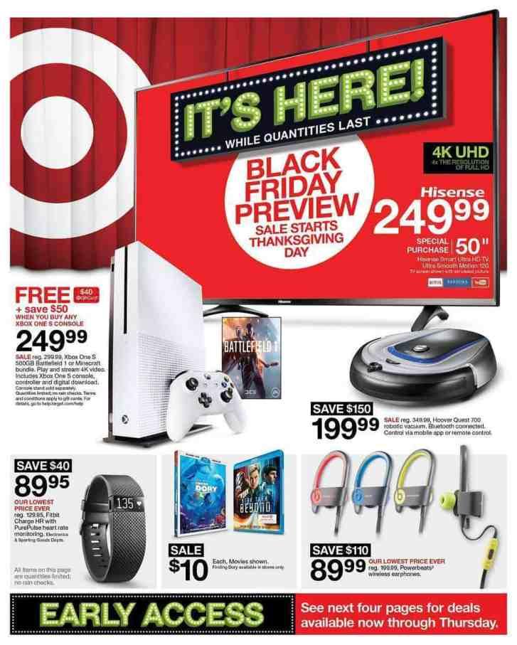 2016 Black Friday Target Ad