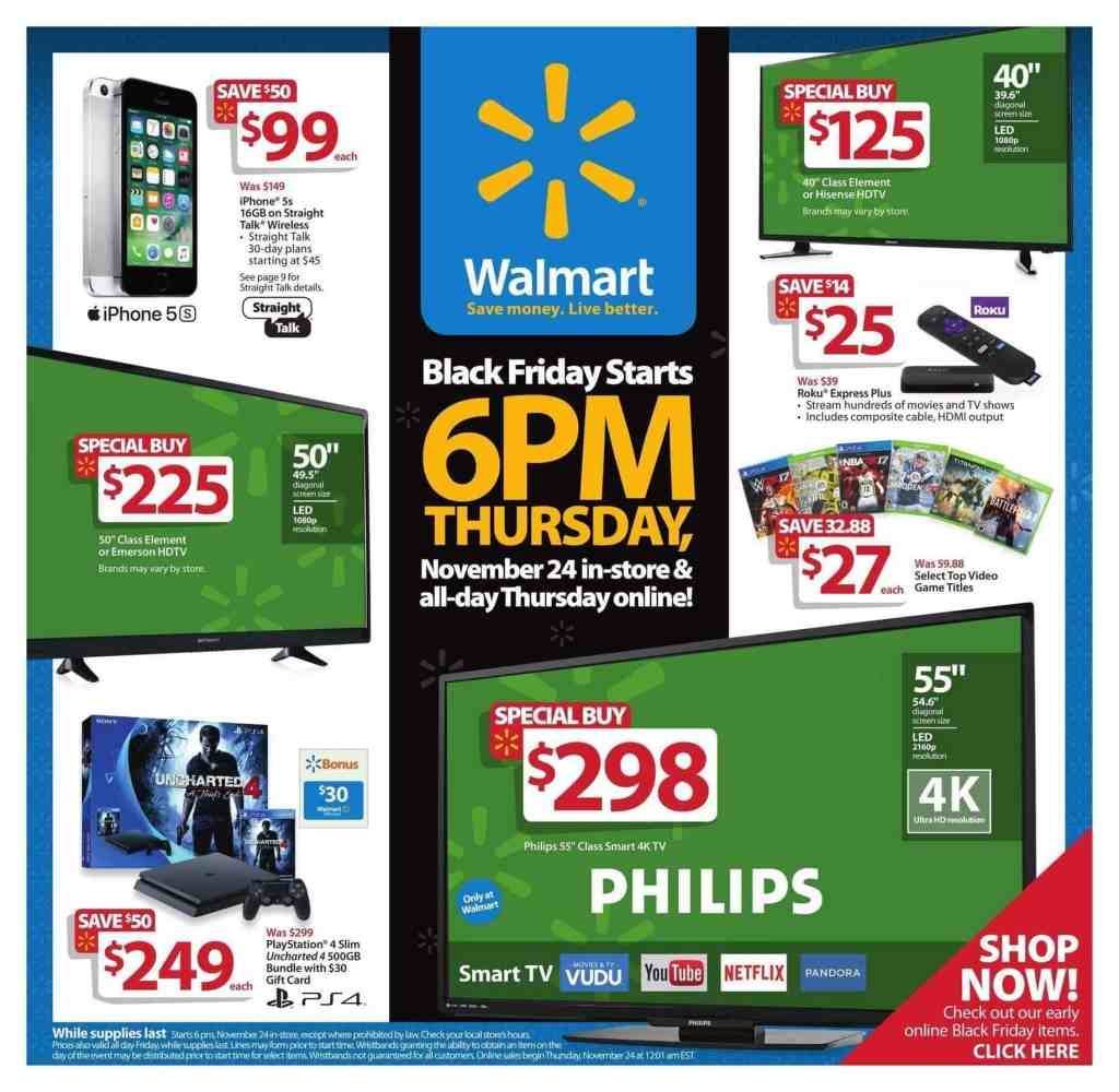 Black Friday Deals at Walmart with Amazon Price ...